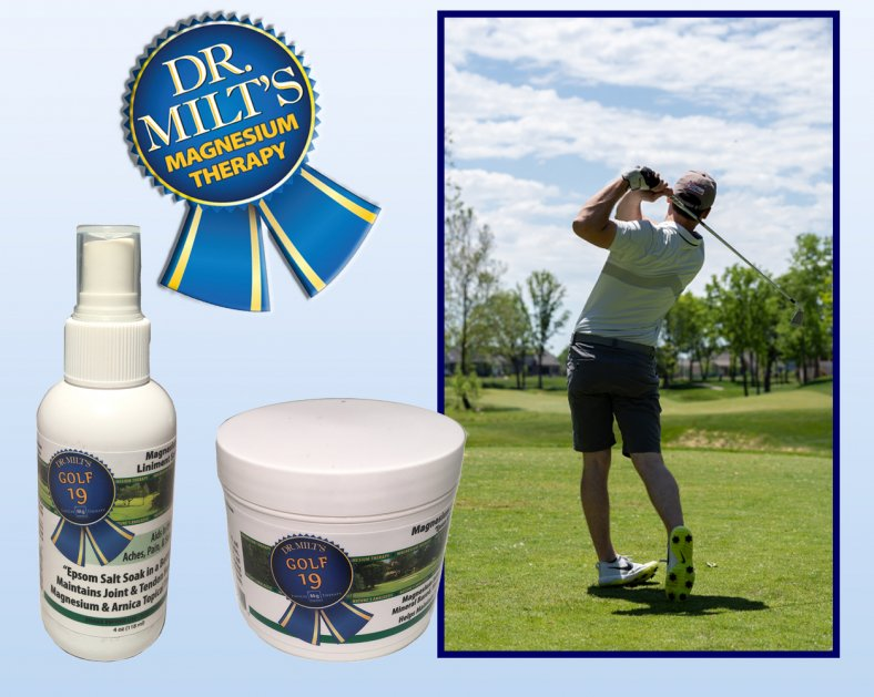 Dr. Milt's Golf19 Spray and Cream 2 pack